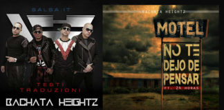 Bachata Heightz ft. 24 Horas - No Te Dejo de Pensar
