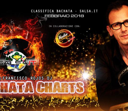 Bachata Charts - Febbraio 2018