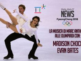 Madison Chock - Evan Bates con Marc Anthony
