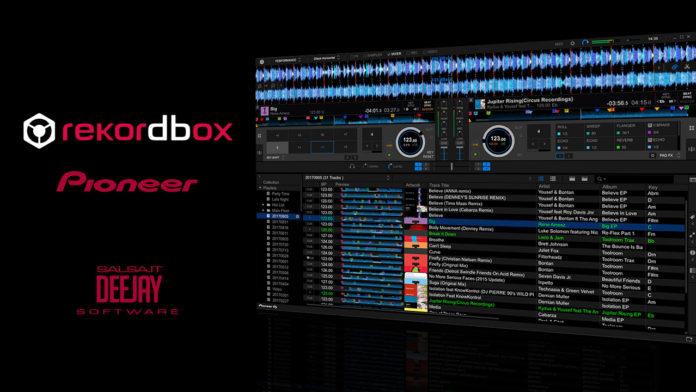 Salsa.it DeeJay - Pioneer Record box