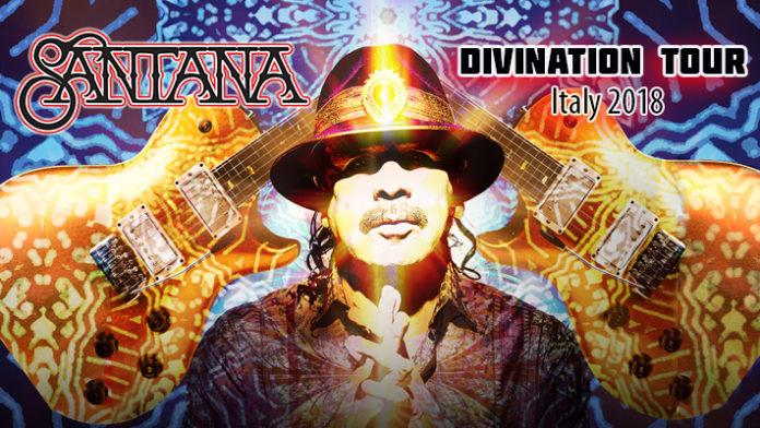 Santana Divination Tour 2018 - Italy