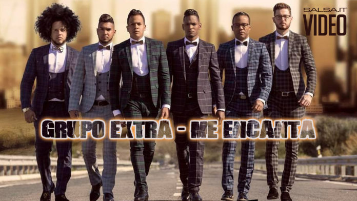 ME ENCANTA - Grupo Extra (2018 Bachata official video)