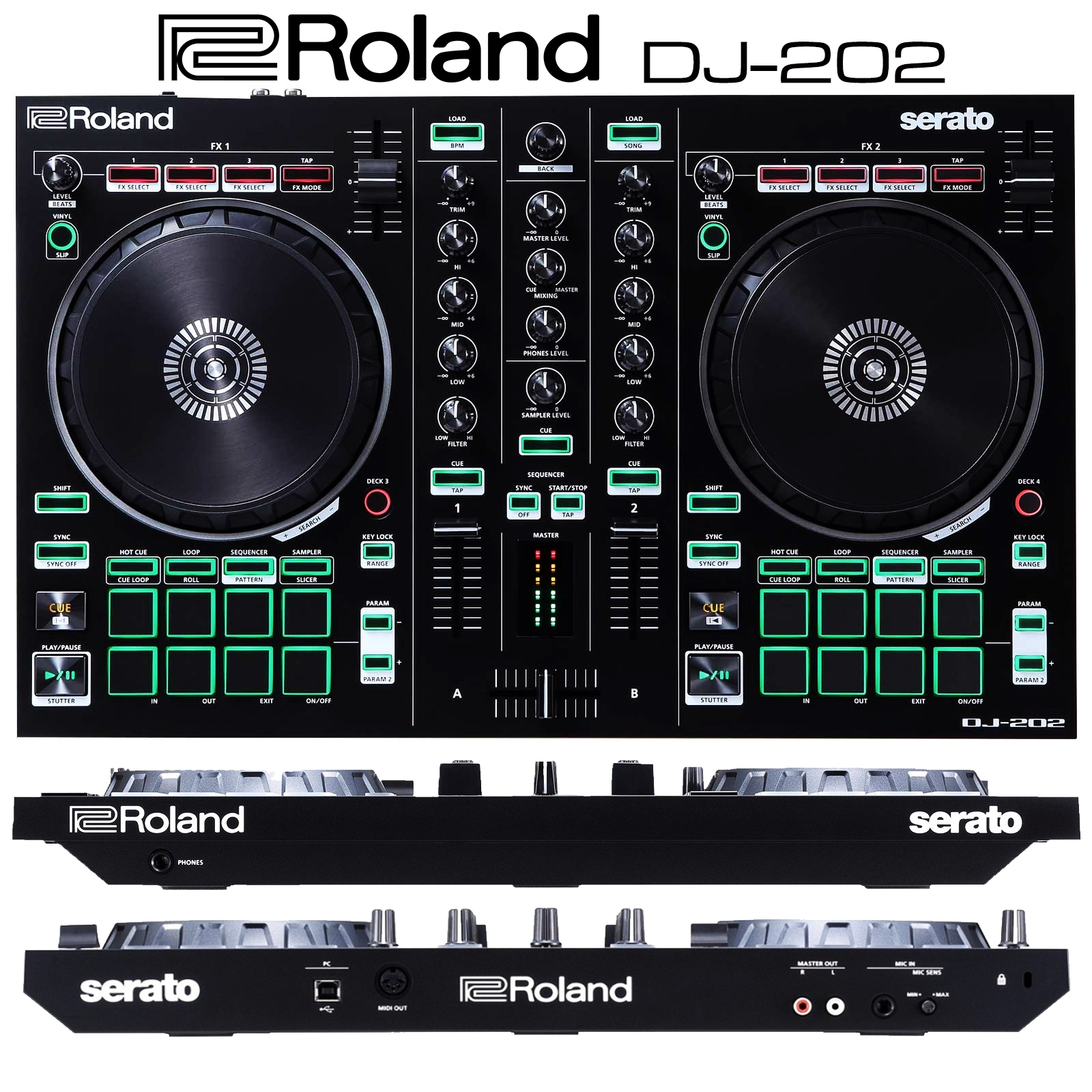 Roland DJ 202 - Salsa.it DeeJay 2