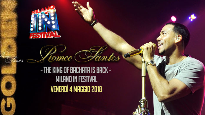 Romeo Santos - Milano 2018 - Golden Tour