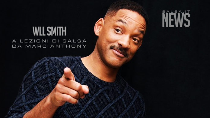 Will Smith - lezioni di salsa con Marc Anthony - News