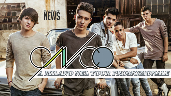 CNCO - Milano Promotional Tour