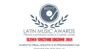 Latin Music Awards 2017 - Vincitori - Edizione 2018