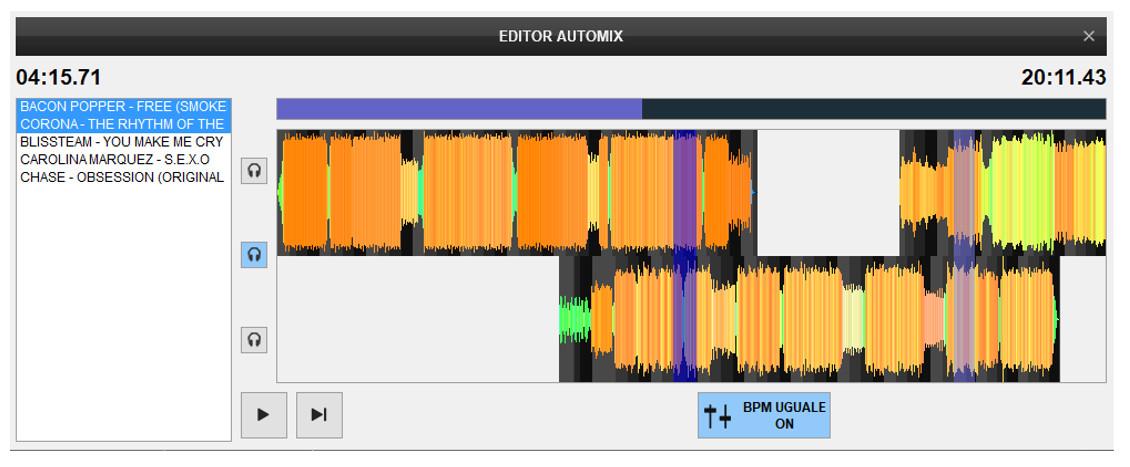 Virtual DJ - Automix Editor