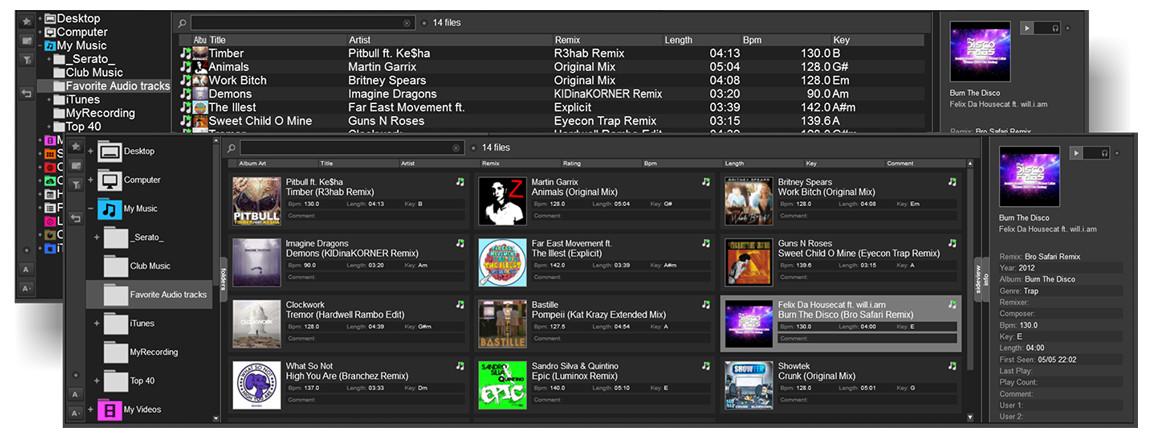 Virtual DJ - Browser