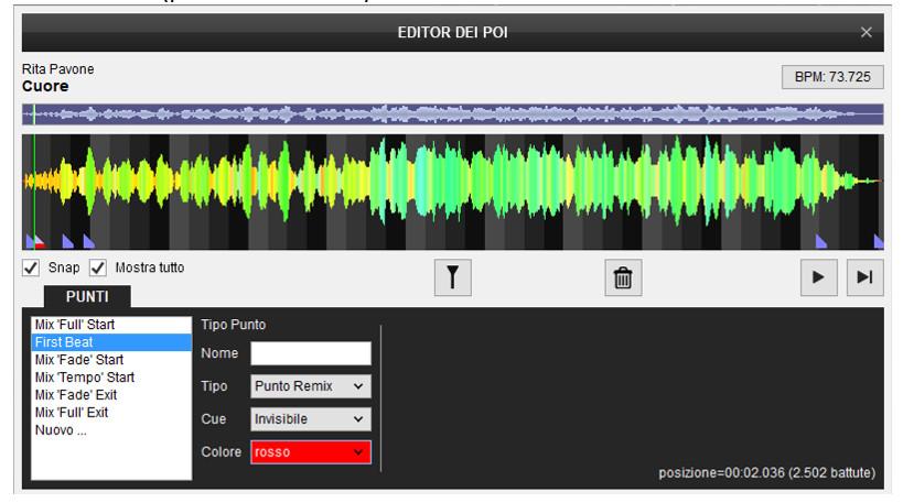 Virtual DJ - Editor POI