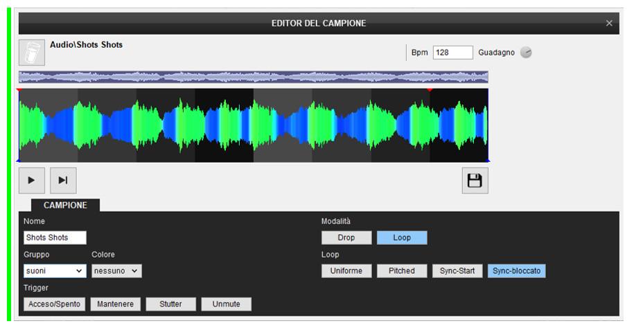 Virtual DJ - Sempler Editor