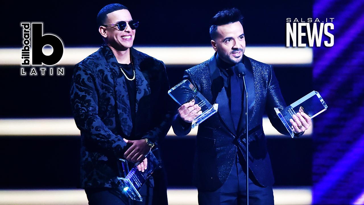 Latin Billboard 2018 - Daddy Yankee - Luis Fonsi