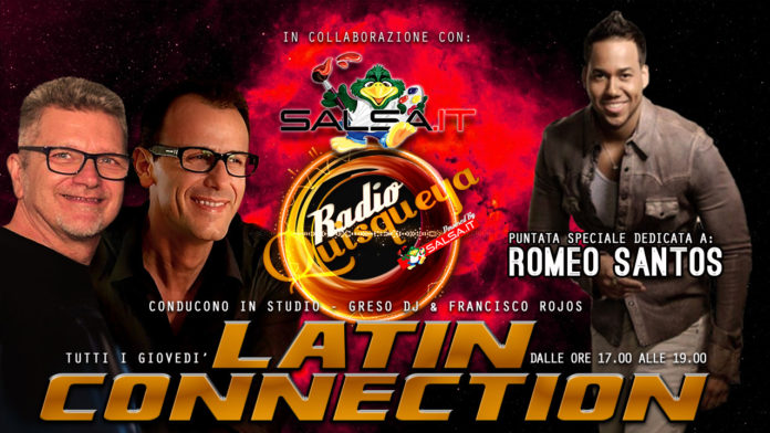 Latin Connection - 03 Maggio 2018 (Romeo Santos)