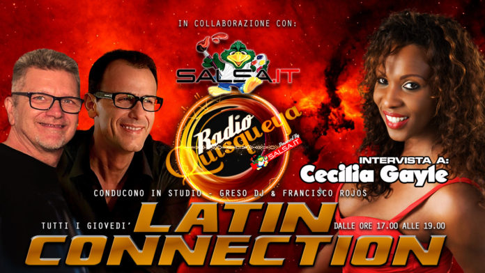 Latin Connection - 31 Maggio 2018 (Cecila Gayle)