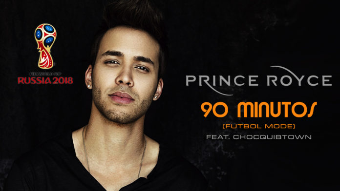Prince Royce - 90 Minutos (Futbol Mode)