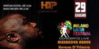 Alexander Abreu - Havana D'Primera Concerto Milano 2018