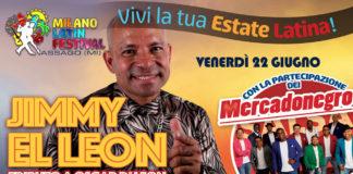Jimmy El Leon -Tributo A Oscar D'Leon (Milano 2018)
