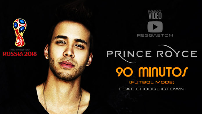 Prince Royce - 90 Minutos (Futbol Mode Video)