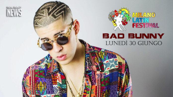 Bad Bunny - Concerto al Milano Latin Festival
