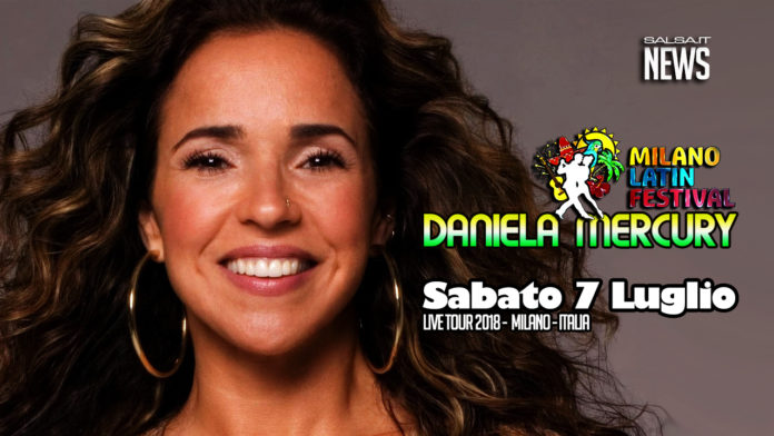Daniela Mercury - Concerto Milano 2018