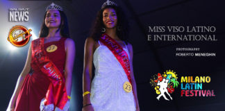 Miss Viso Latino e International - Milano Latin Festival 2018