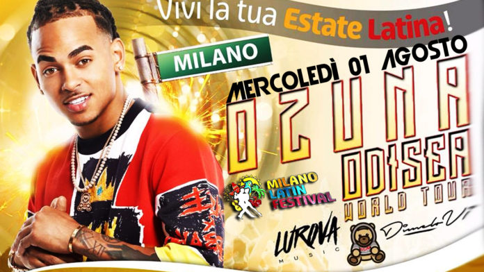 Ozuna - Odissea World Tour 2018 - Milano