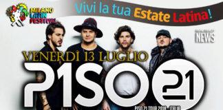 Piso 21 in concerto a Milano