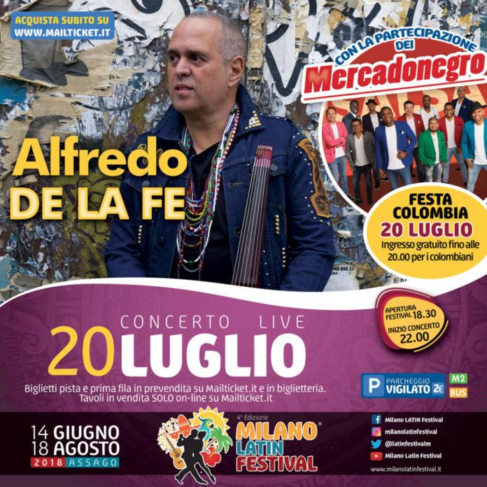 Alfredo De La Fé al Milano Latin Festival
