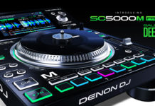 New Denon DJ SC5000M Media Player