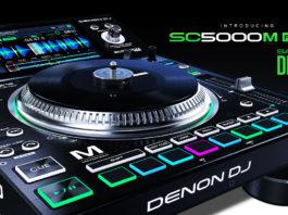 New Denon DJ SC5000M Media Player