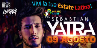 Sebastian Yatra Live al Milano Latin Festival
