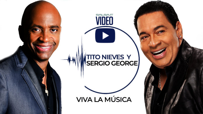 Tito Nieves - Sergio George - Viva La musica (2018 Salsa official video)