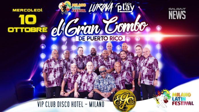 Gran Combo de Purto Rico - 2018 Live a Milano