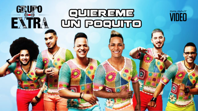 Grupo Extra - Quiereme un Poquito (2018 Bachata official video)