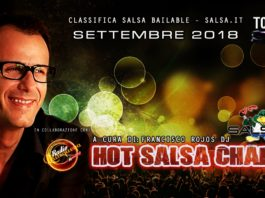 Hot Salsa Charts (Classifica) - Settembre 2018