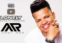 Manny Rod - Lonely (bachata version) - (2018 Bachata Lyric video)