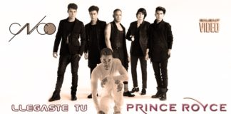 CNCO, Prince Royce - Llegaste Tu (2018 Reggaeton official video)
