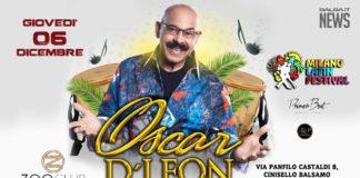 Oscar D'Leon in concerto a Milano (06 Dicembre 2018)