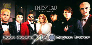 CNCO, Meghan Trainor, Sean Paul - Hey DJ (2018 Reggaeton lyric video)