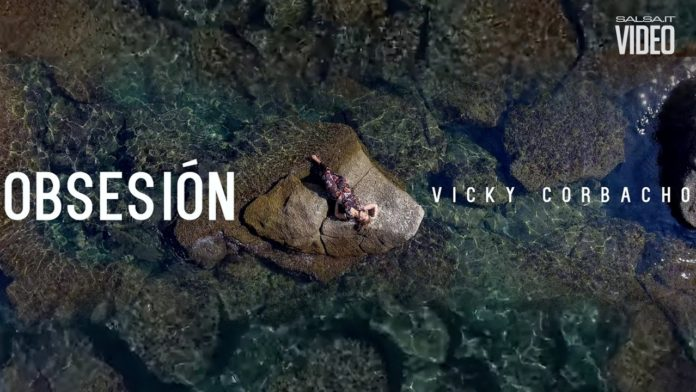 Vicky Corbacho - Obsesion - Tan Solo Con Tu Amor (2018 bachata official video)