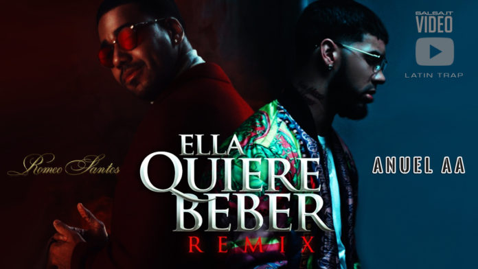 Anuel AA feat. Romeo Santos - Ella Quiere Beber (2018 latin trap official video)