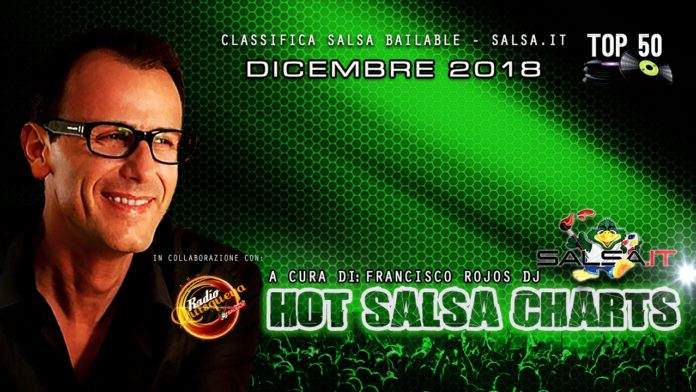 Salsa Charts - Dicembre 2018 (Classifica Top 50)