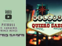 Pitbull feat. prince Royce & Ludacris - Quiero Saber (2018 Reggaeton official video)
