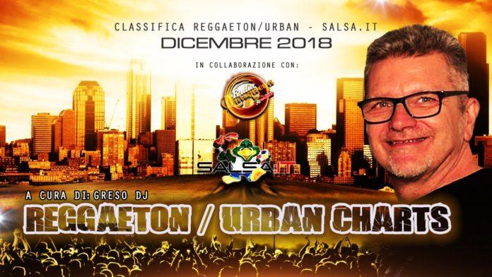 Reggaeton Urban Charts - Dicembre 2018