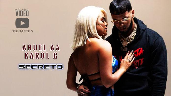 Anuel AA e Karol G - Secreto (2019 Reggaeton official video)