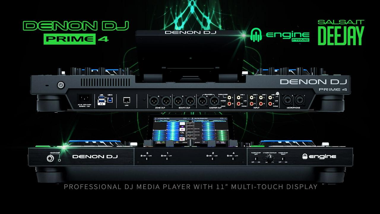 DENON DJ - PRIME 4 - 2019 Salsa.it DeeJay Pro 2