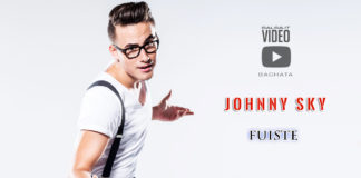 Johnny Sky - Fuiste (2019 Bachata lyric-video)