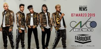 CNCO World Tour 2019 - Milano Fabrique (2019 news urban)