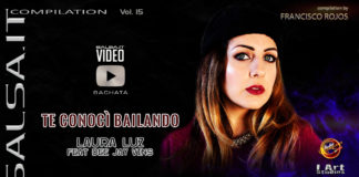 Laura Luz ft dj Vins - Te Conoci Bailando (2019 Bachata lyric video)