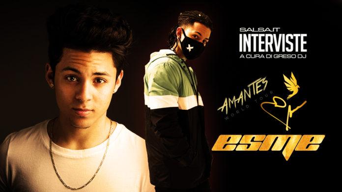 Esme - Intervista con Salsa.it - Amantes Tour 2019